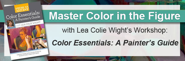 Master color in the figure with oil painter's Lea Colie Wight's video workshop