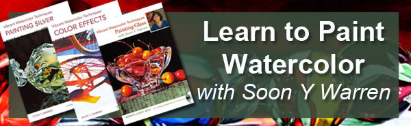 Learn to paint watercolor with Soon Y Warren's Online Painting Workshop