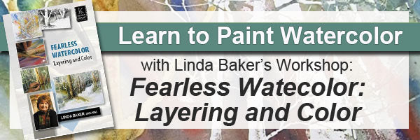 Learn to paint in watercolor wth Fearless Watercolor: Laying and Color