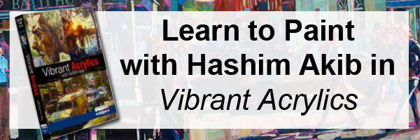 Learn to paint acrylics with Hashib Yakib's online workshop Vibrant Acrylics