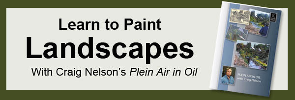 Learn to paint landscapes in oil with Craig Nelson