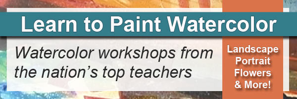 Learn to paint watercolor with instructional video workshops from Creative Catalytst Productions