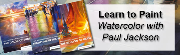 Learn to paint watercolor with Paul Jackson's online workshop