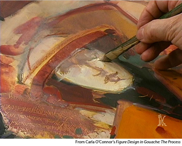 Learn how to paint gouache with Carla O'Connor