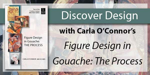 Learn to paint with Carla O'Connor's gouache video