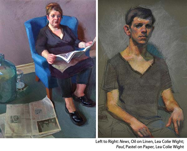Interview with Oil Painter Lea Colie Wight