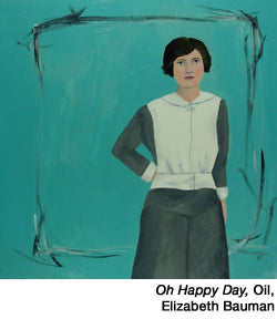 Oh-Happy-Day,-oil  by Elizabeth Bauman