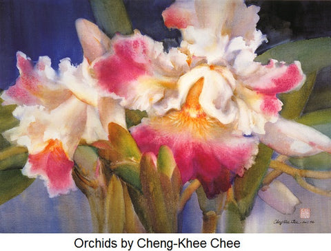 Orchids by Cheng-Khee Chee