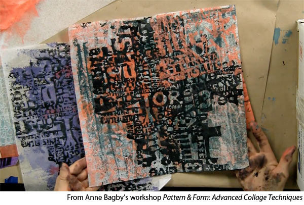 Learn mixed media painting with Anne Bagby