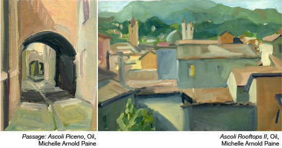 Passage-and-Ascoli-Rooftops by Michelle Arnold Paine