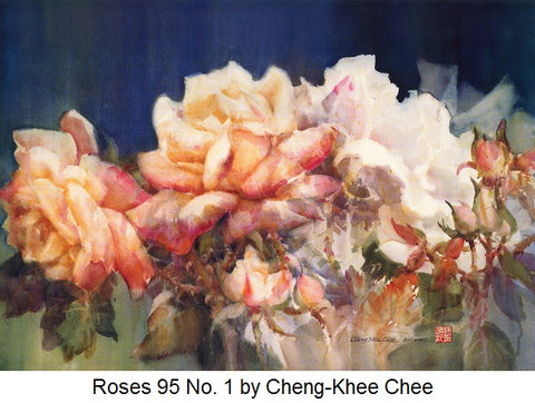 Roses 95 No. 1 by Cheng-Khee Chee