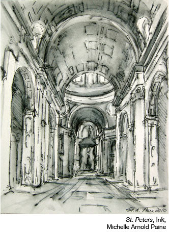 St.-Peters-Ink by Michelle Arnold Paine
