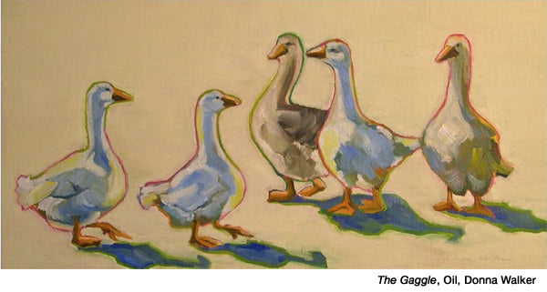 The-Gaggle by Donna Walker