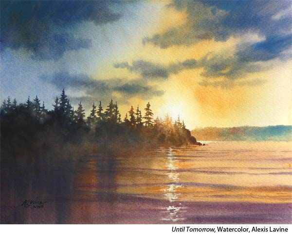Stories behind the painting with watercolorist Alexis Lavine