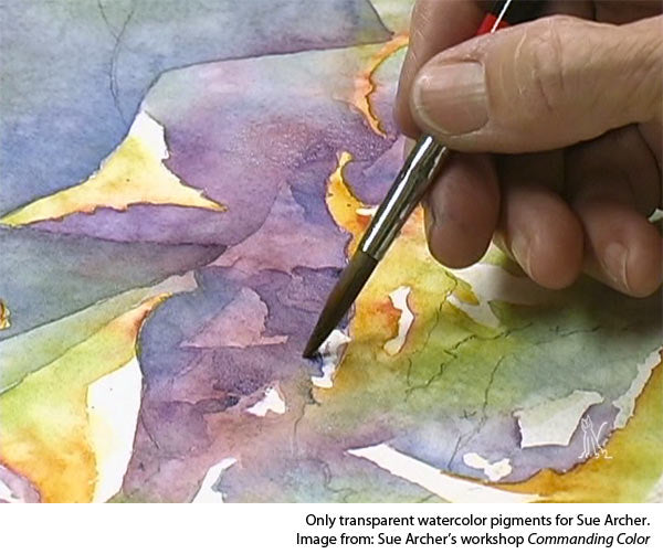 how to paint gouache-Understanding gouache v transparent watercolor