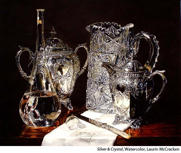Realistic Silver in Watercolor with Laurin McCracken