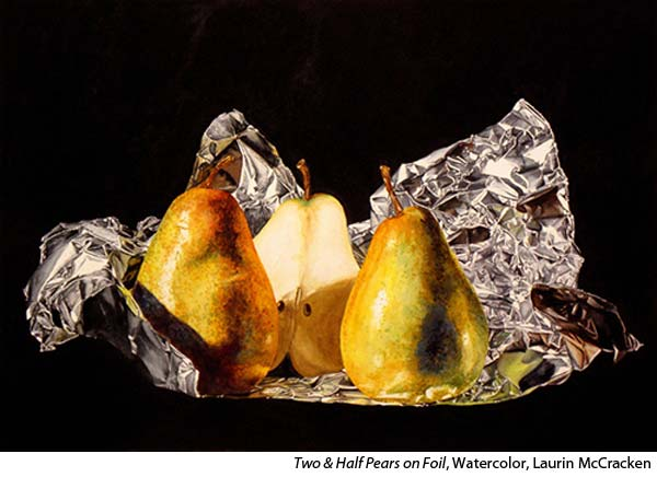 Photo Realistic Silver in Watercolor with Laurin McCracken