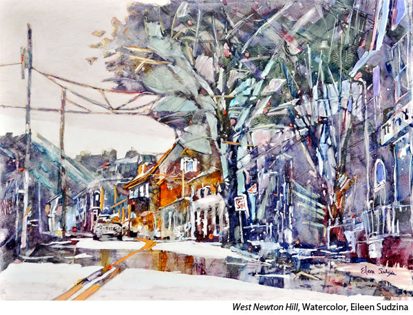 Interview with yupo watercolorist Eileen Sudzina