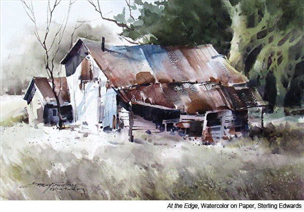 Learn to paint with watercolor artist Sterling Edwards