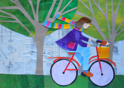 """Bike Ride"" by Melissa Babcock Saylor"