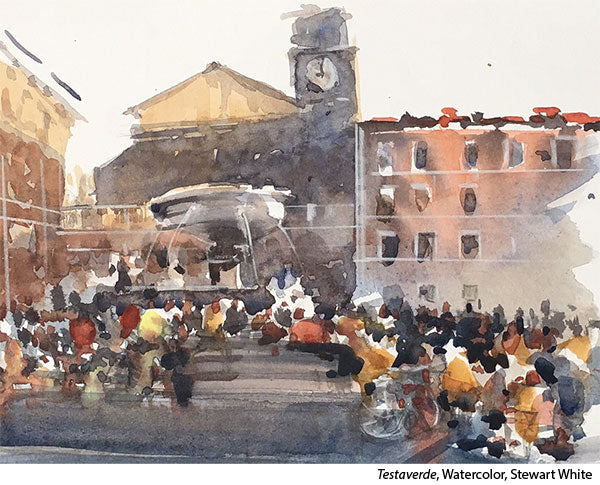 Interview with watercolorist Stewart White