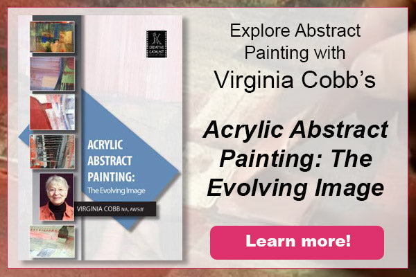 Learn to paint abstract with virginia cobb