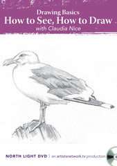 Drawing Basics:  How to See, How to Draw with Claudia Nice