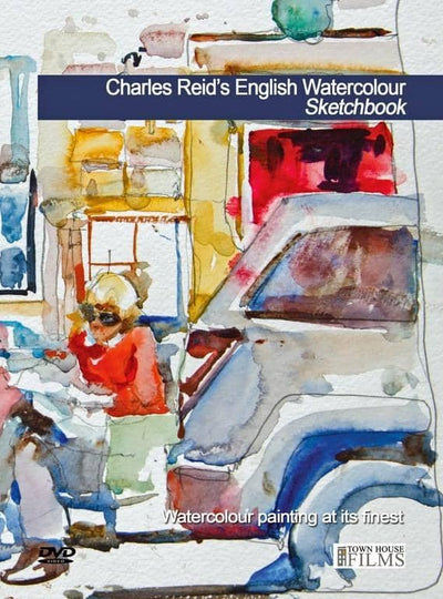 Charles Reid's English Watercolour Sketchbook Art Instruction Video-DVD from Creative Catalyst