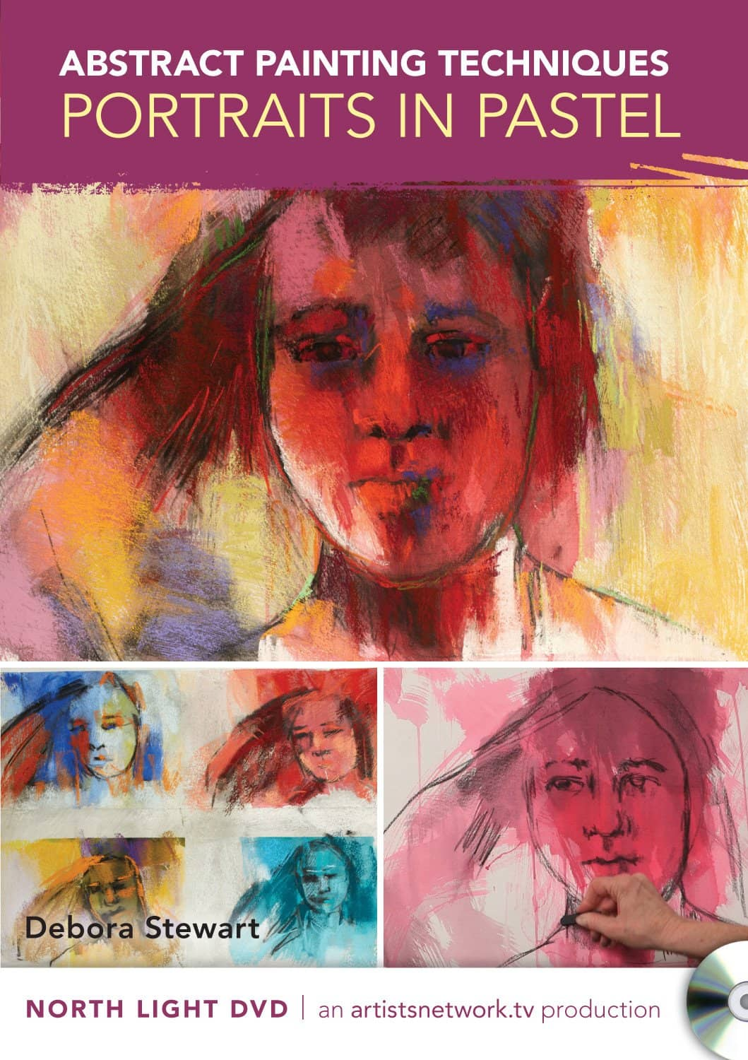 Abstract Painting Techniques - Portraits in Pastel with Debora Stewart