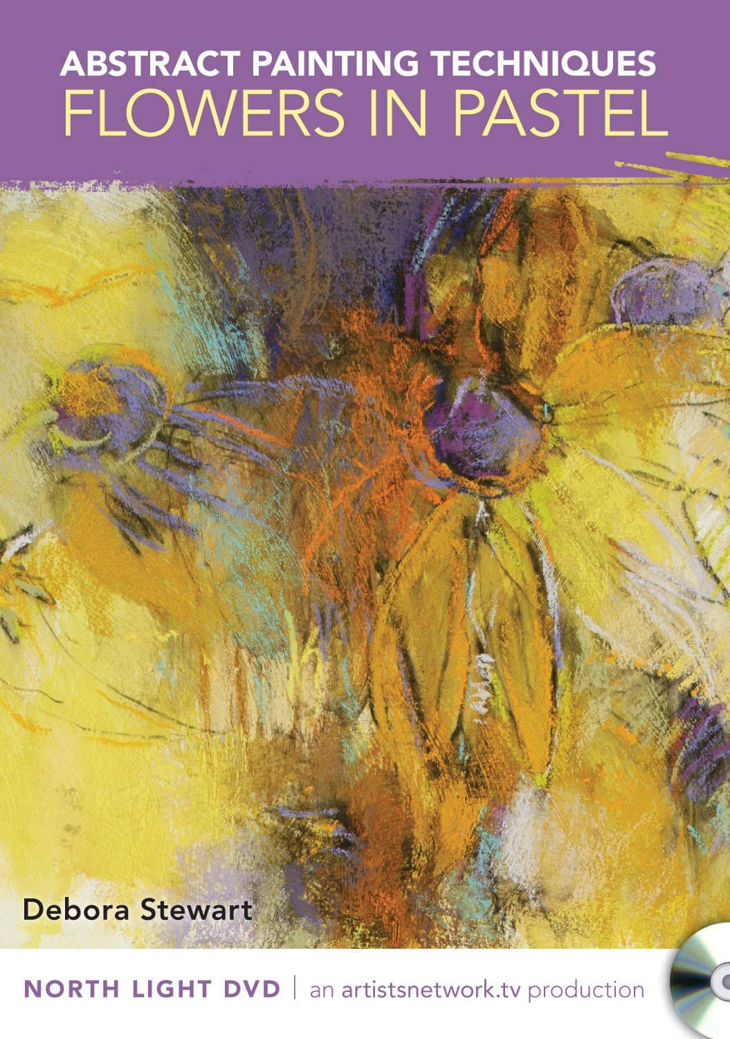Abstract Painting Techniques Flowers In Pastel With Debora Stewart