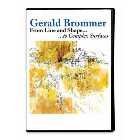 From Line and Shape ... to Complex Surfaces with Gerald Brommer Art Instruction Video-DVD from Creative Catalyst
