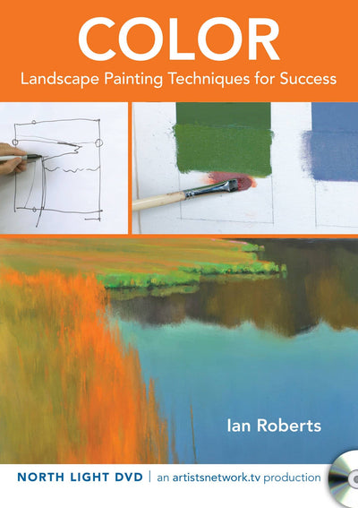 Color:  Landscape Painting Techniques for Success (Oil) with Ian Roberts Art Instruction Video-DVD from Creative Catalyst