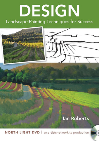 Design:  Landscape Painting Techniques for Success (Oil) with Ian Roberts