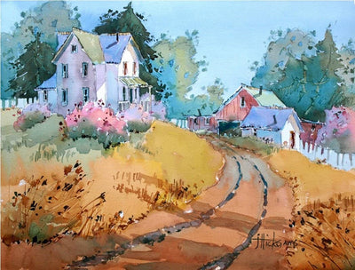 Hilltop Homestead: Transforming the Landscape in Watercolor with Joyce Hicks