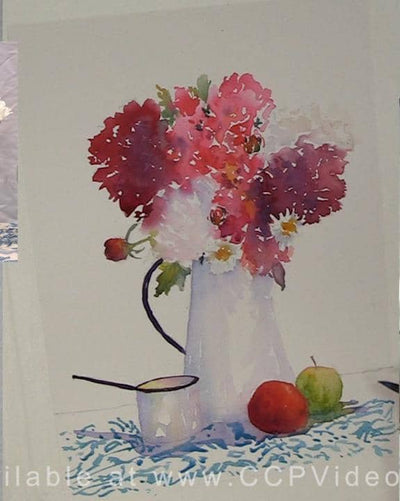 Still Life with Apples:  Painting the Still Life in Watercolor with Judy Mudd