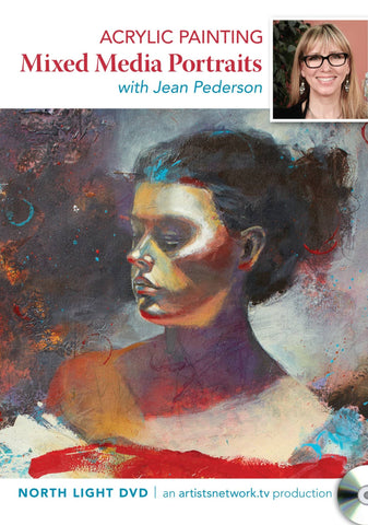 Acrylic Painting: Mixed Media Portraits with Jean Pederson
