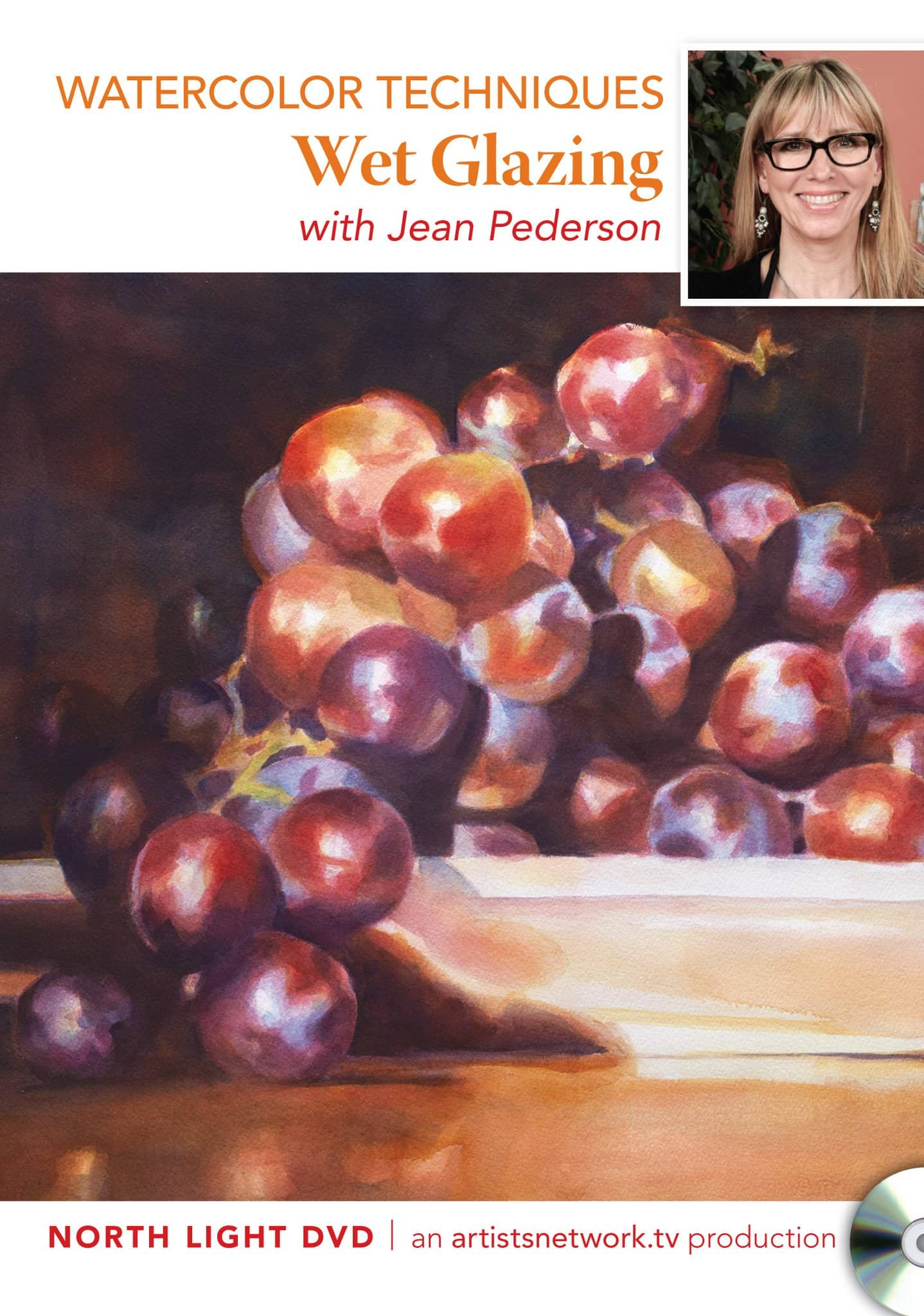 Watercolor Techniques: Wet Glazing with Jean Pederson Art Instruction Video-DVD from Creative Catalyst