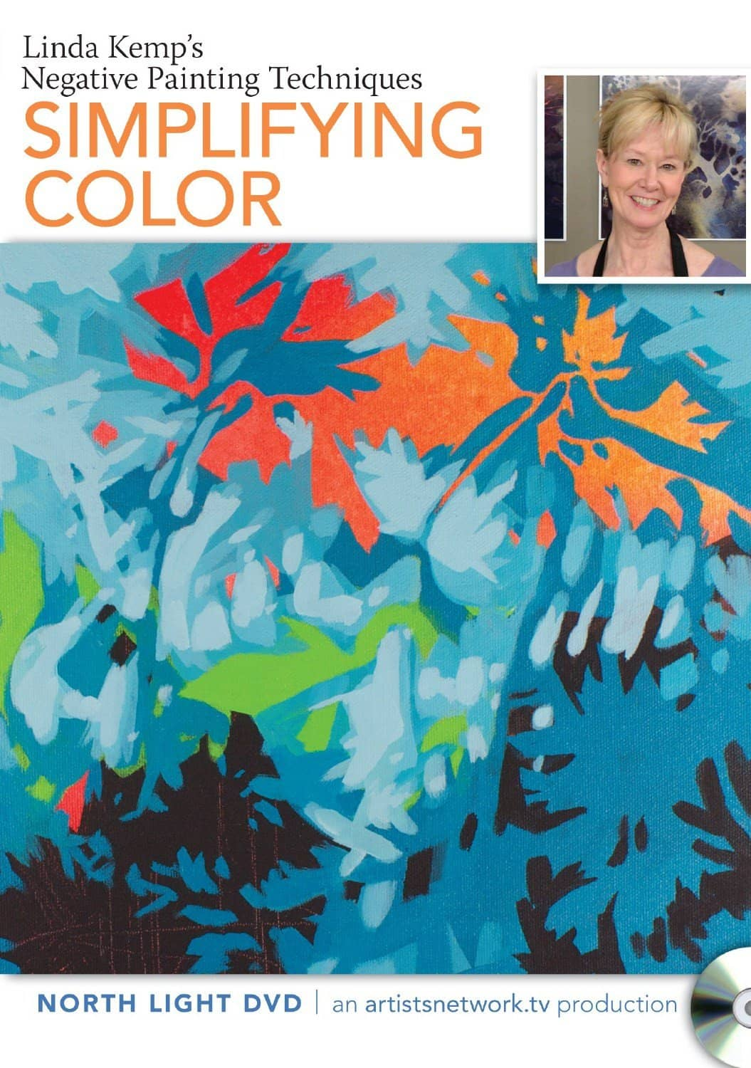 Linda Kemp's Negative Painting Techniques: Simplifying Color Art Instruction Video-DVD from Creative Catalyst