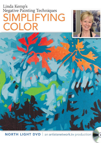 Linda Kemp's Negative Painting Techniques: Simplifying Color