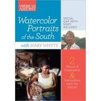 Watercolor Portraits of the South with Mary Whyte Art Instruction Video-DVD from Creative Catalyst