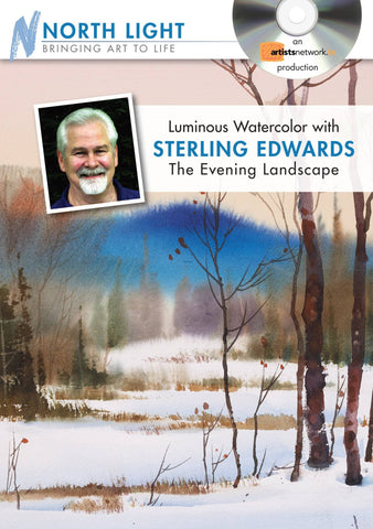 Luminous Watercolor:  The Evening Landscape with Sterling Edwards