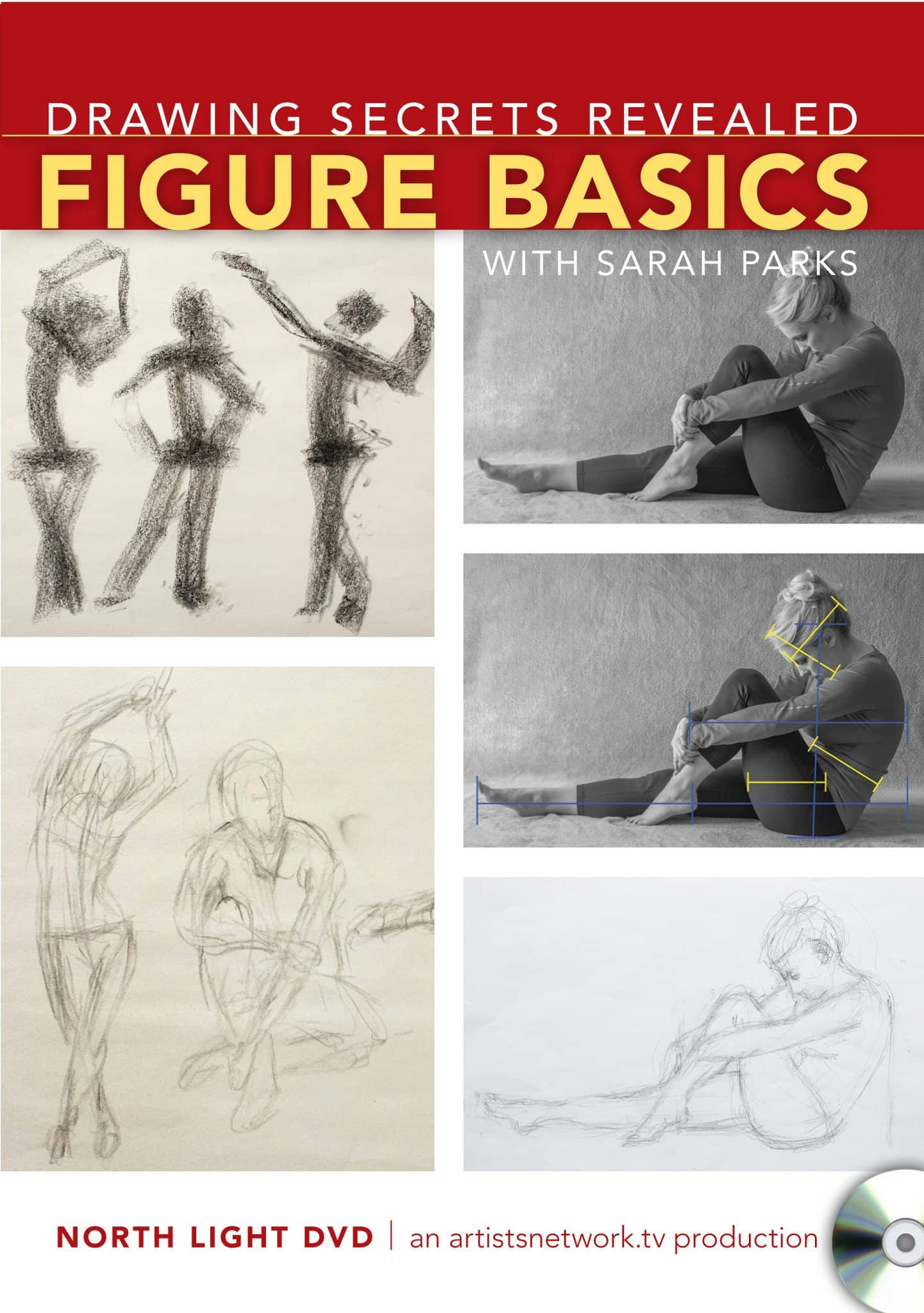Drawing Secrets Revealed:  Figure Basics with Sarah Parks Art Instruction Video-DVD from Creative Catalyst