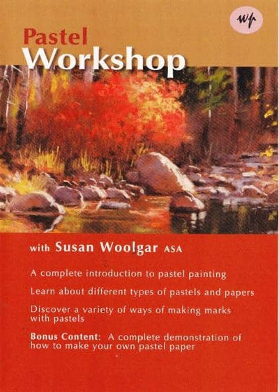 Pastel Workshop with Susan Woolgar Art Instruction Video-DVD from Creative Catalyst