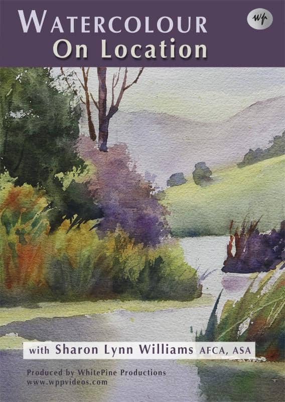 Watercolour on Location with Sharon Lynn Williams Art Instruction Video-DVD from Creative Catalyst