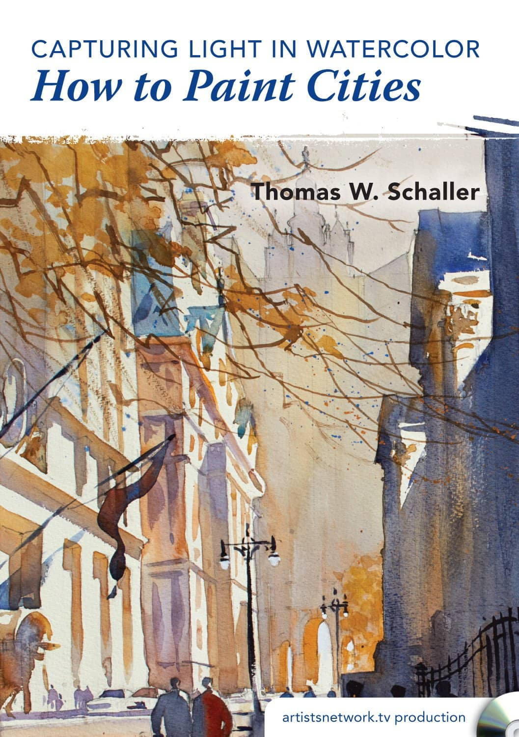 Capturing Light in Watercolor - How to Paint Cities with Thomas W Schaller
