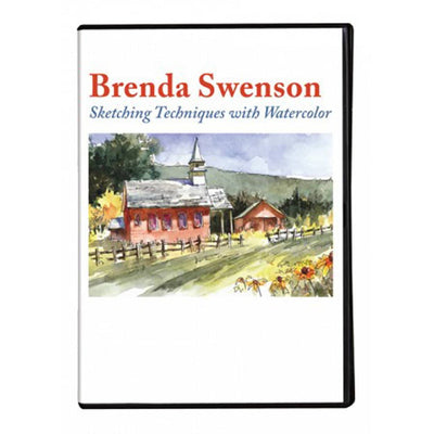 Sketching Techniques with Watercolor with Brenda Swenson Art Instruction Video-DVD from Creative Catalyst