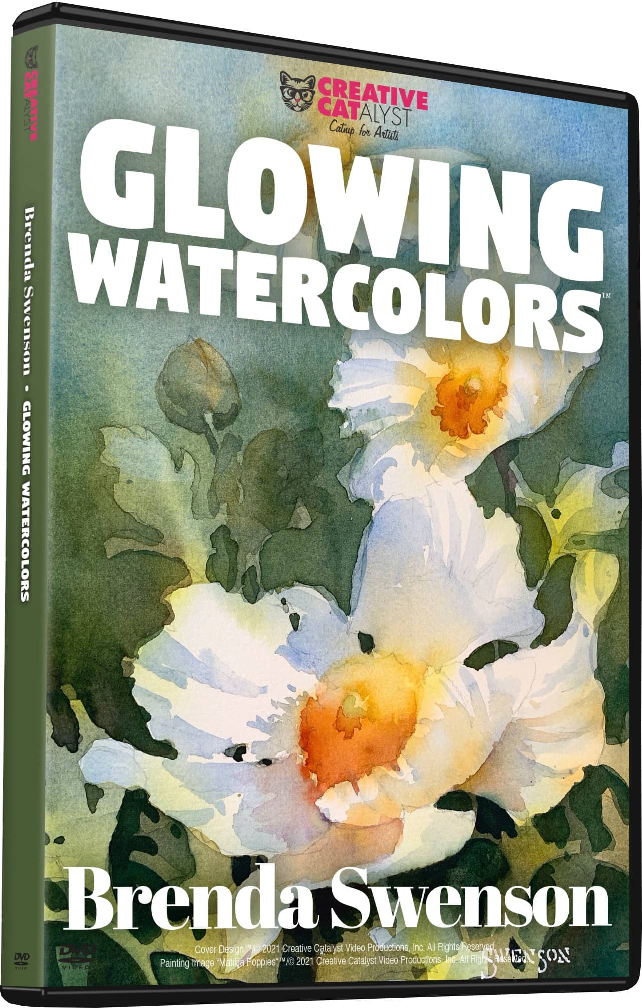 Glowing Watercolors with Brenda Swenson