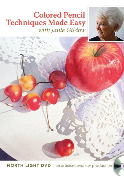 Colored Pencil Techniques Made Easy by Janie Gildow Art Instruction Video-DVD from Creative Catalyst