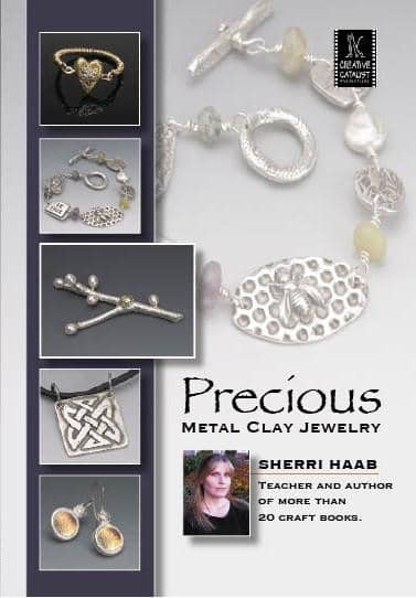 Precious Metal Clay Jewelry with Sherri Haab Art Instruction Video-DVD from Creative Catalyst