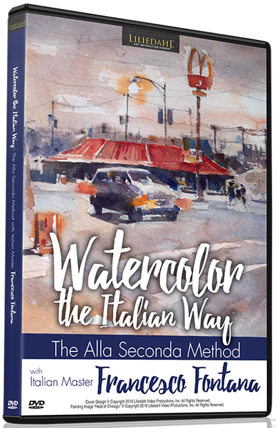 Watercolor the Italian Way with Francesco Fontana
